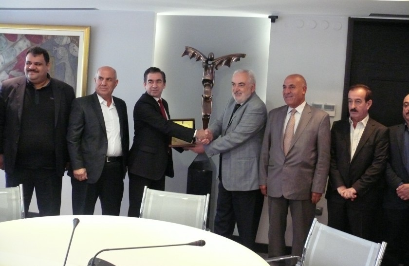 BIA's management meets Kurdish business representatives
