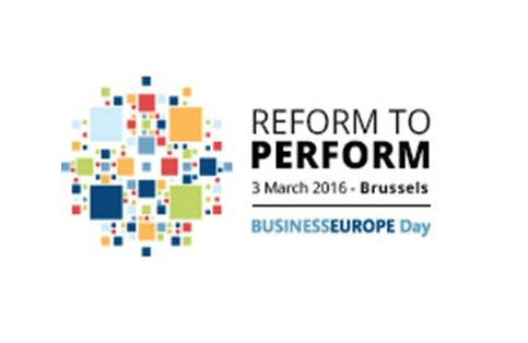 BUSINESSEUROPE DAY - 3 МАРТ 2016 Г., БРЮКСЕЛ