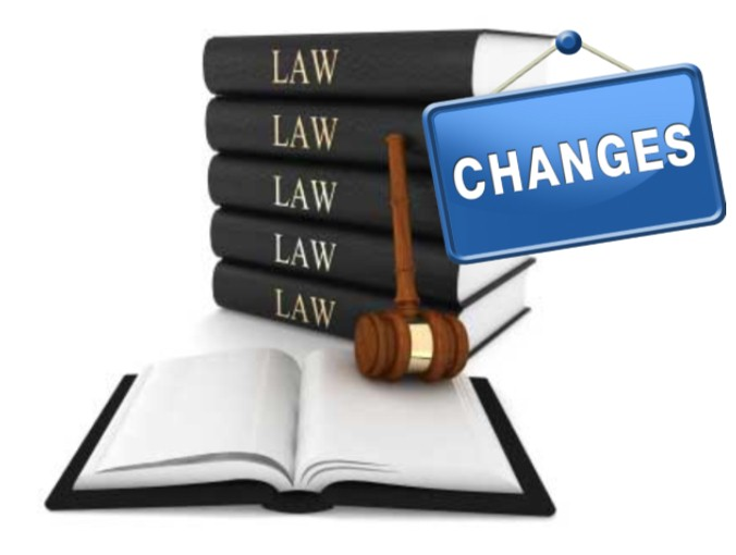 Changes in legislation and the regulatory environment
